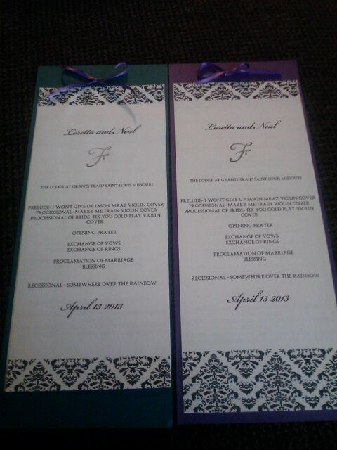 Damask Programs!! Finally finished!