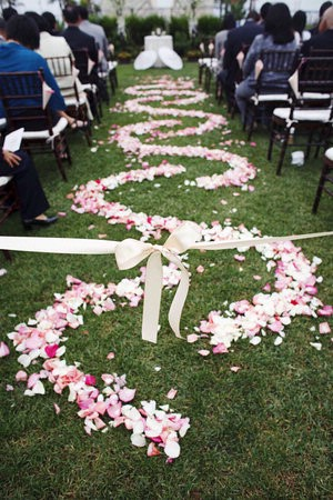 Outdoor wedding wedding aisle runner outdoor wedding spring summer flowers