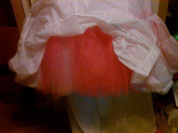 DIY Crinoline Added
