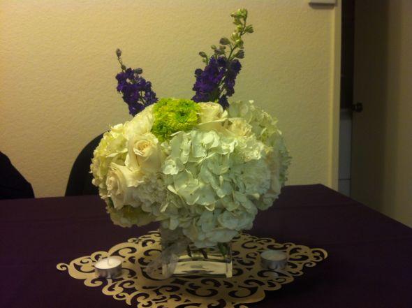 Diy hydrangea centerpiece help weddingbee