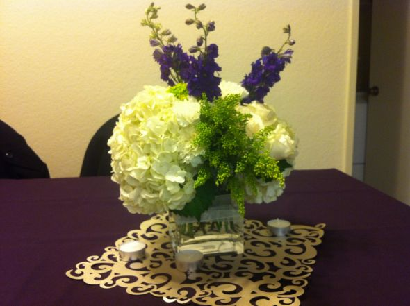 Diy hydrangea centerpiece help weddingbee