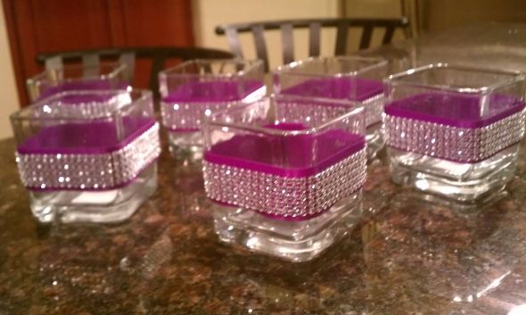 Blinged Out Candles