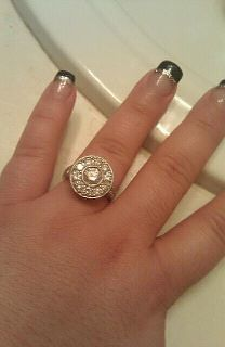 my ring...designed for me. the shape