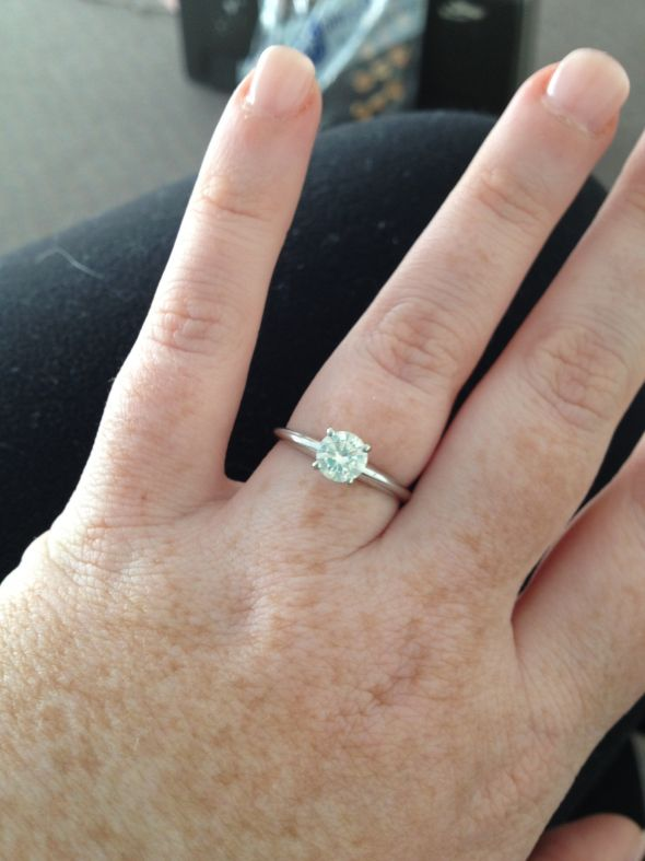 Carat Engagement Ring Too Small