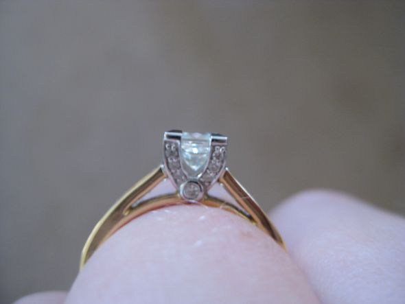 Calling all princess cut solitaire erings wedding princess cut