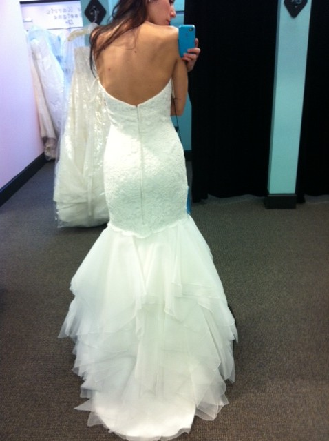 WHICH GOWN? (Last time I promise!) :  wedding dress ivory white Liv3