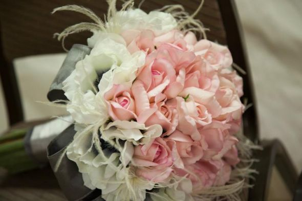 Diy Bouquets For Weddings With Silk Flowers Images