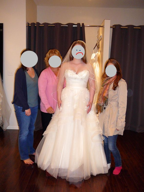 Dress Remorse: Watters Olivia