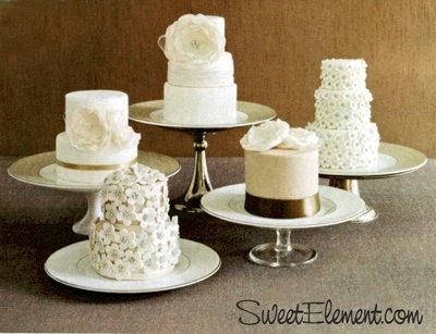 Mini cakes instead of large cake?