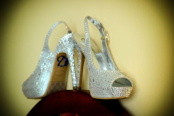 My Blingy Shoes!