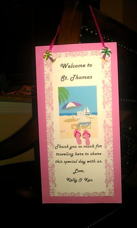 Do Not Disturbsimple door hanger wedding pink diy St Thomas Door