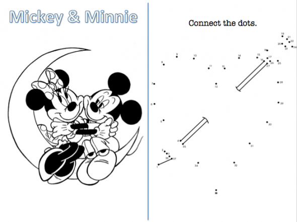 Disney Theme...Kids Activity Book (Pic Heavy)