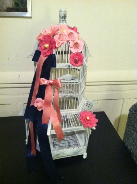 DIY Birdcage card box