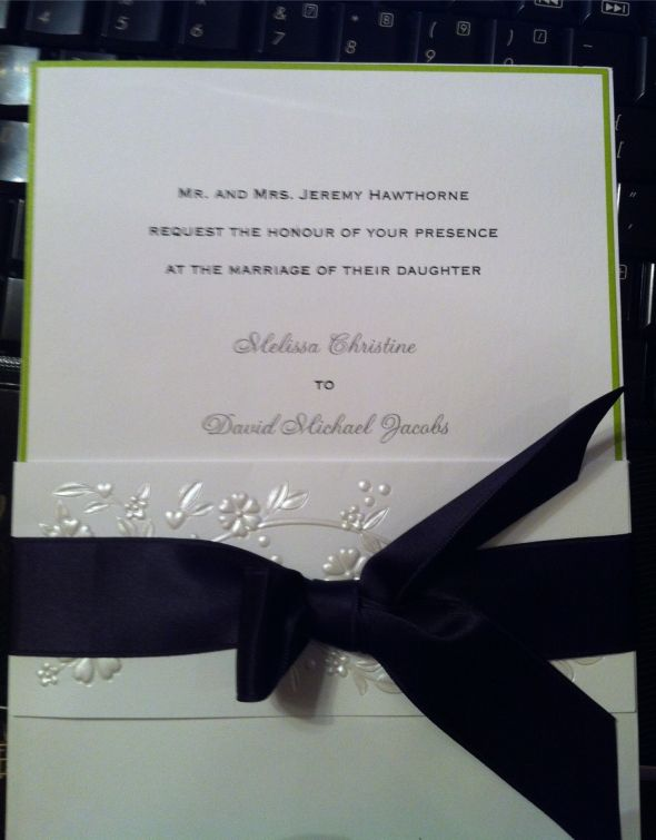 Need opinion on invitations wedding invitations eggplant lime green New