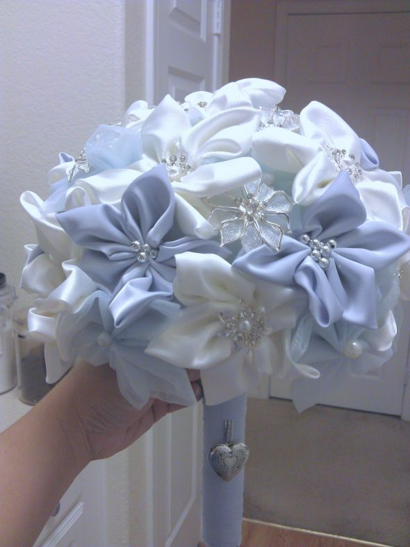 My DIY fabric bouquet