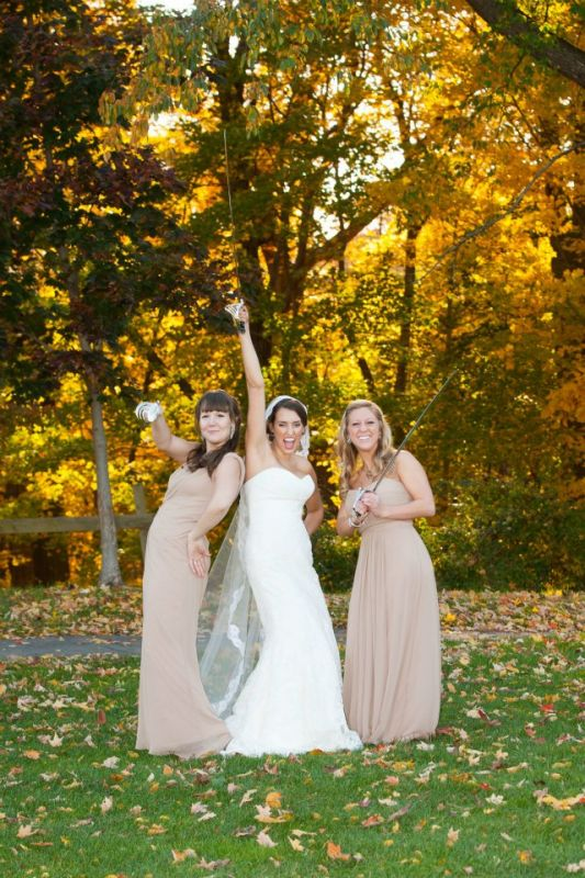 Post ceremony photo fun! :  wedding bridesmaids dress fun photos inspiration military saber sword Sword 2