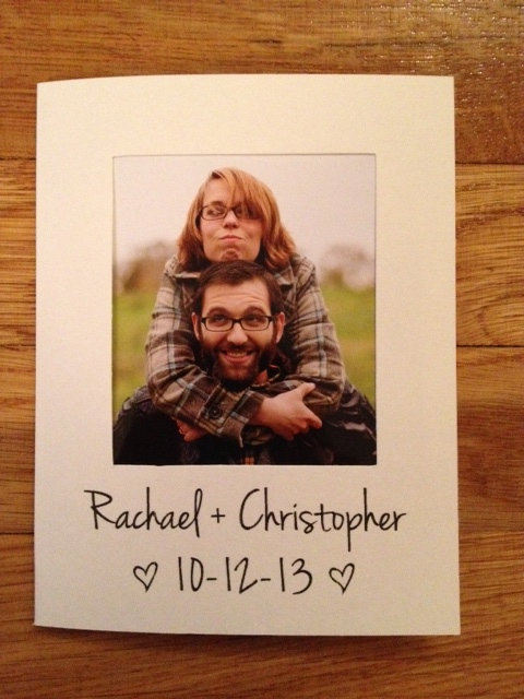 DIY Polaroid Invitations