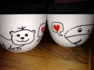 Sharpie + Mug = DIY Love Mugs!