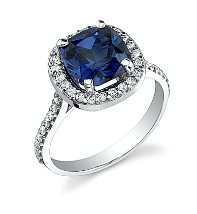 Can I see your nondiamond engagement ring and any sapphire ring advice