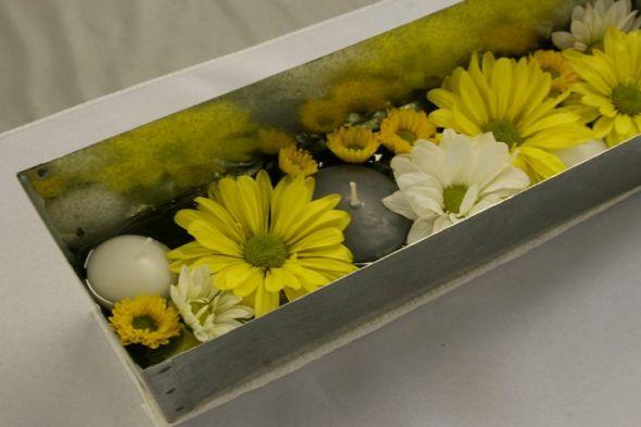 wedding wedding flowers centerpiece vase beads decor
