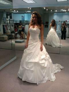 My wedding dress. What do you think? :  wedding ceremony dress ivory white My Dress