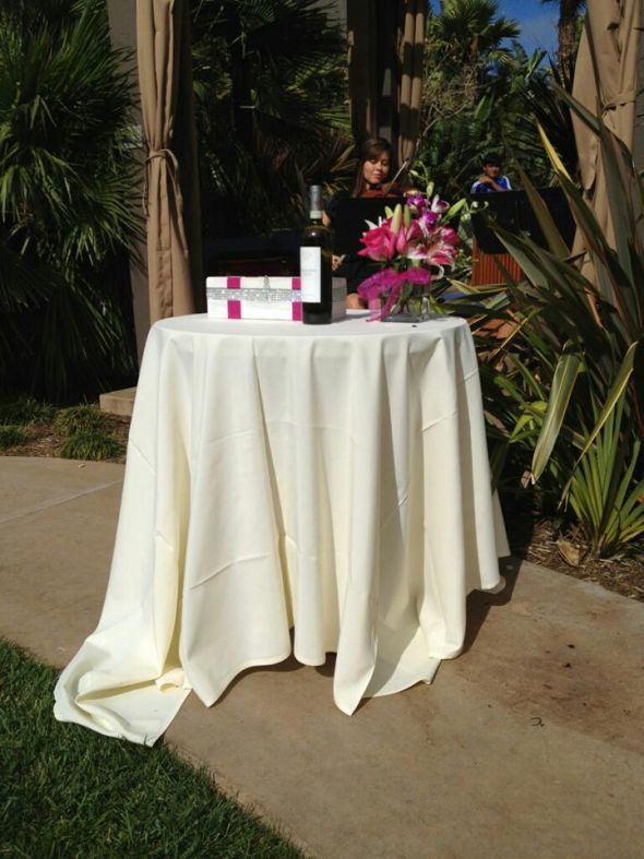 DIY wine box ceremony