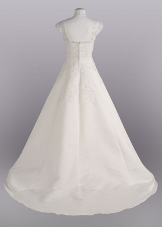 Would adding a corset look silly wedding Davids Bridal T8612 Wedding