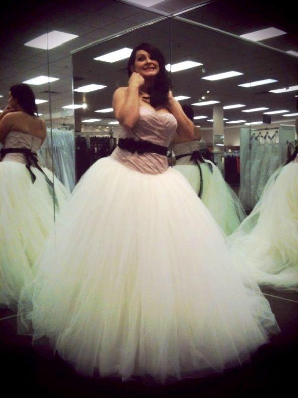 My Vera Wang VW351007 Wedding Dress wedding vera wang vw351007 pink