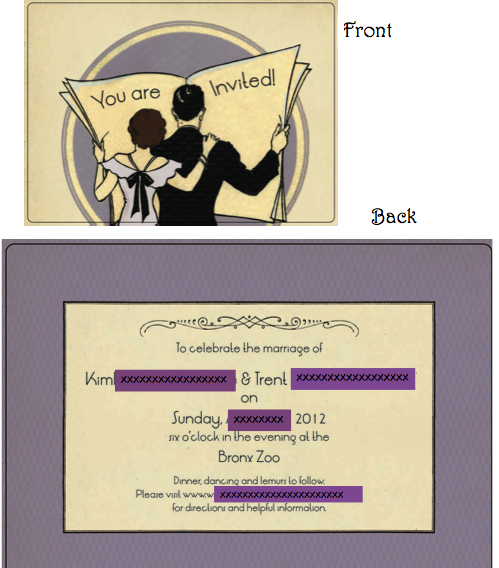 Help how do i let my guests know what to wear invite wording how do i let my guests know what to wear invite wording junglespirit Choice Image