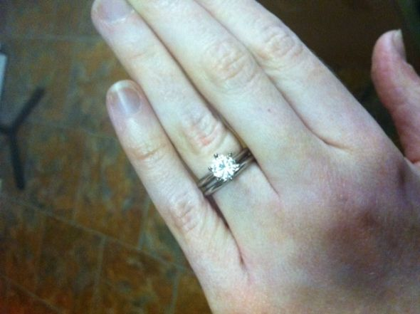 wedding moissanite upgrade Moissanite Ring 2