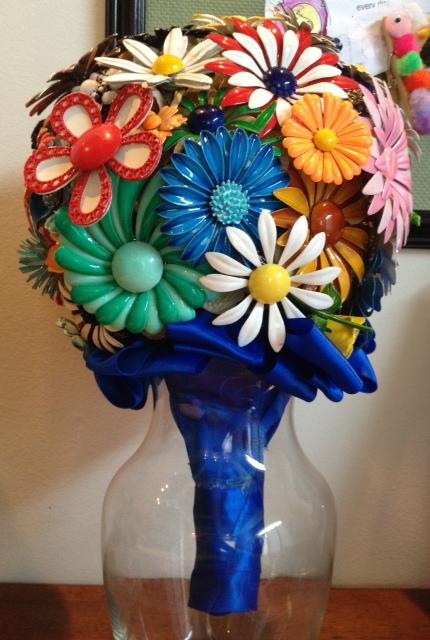 wedding brooch bouquets