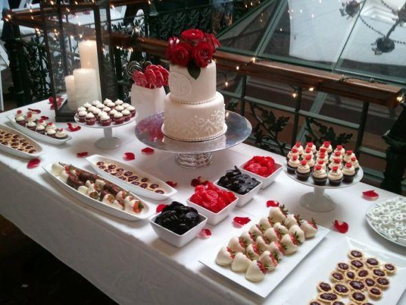 Which size cake works best on dessert bar?