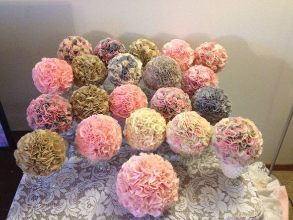 Diy Wedding Flowers Weddingbee : Fabric centerpieces weddingbee photo gallery