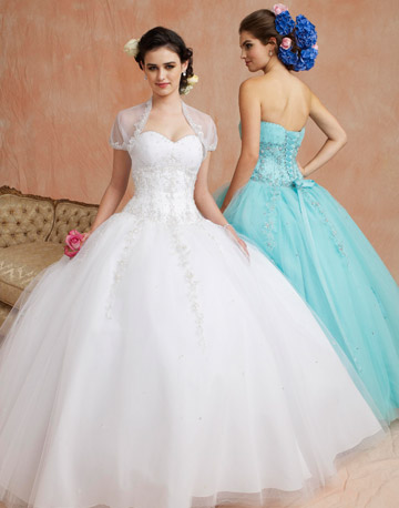 wedding ball gown 1 I mean really really puffy preferably with a long