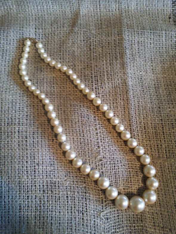 Vintage Necklace for Sale :  wedding necklace pearl vintage jewelry 2012 04 14 11.30.37.jpg
