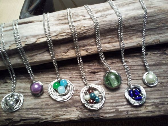 Handmade Bridesmaid Necklaces $18 :  wedding bridesmaids wedding party jewelry necklace handmade 2012 05 24 12.55.31