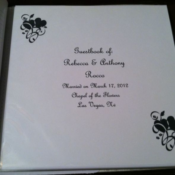 New 659 Wedding Guest Book Cover Guestbook