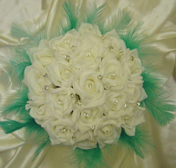 wedding Il What colour flowers for our aqua blue black white wedding