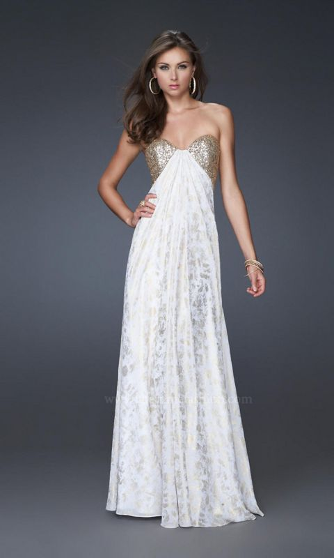 how about this prom dress for party time