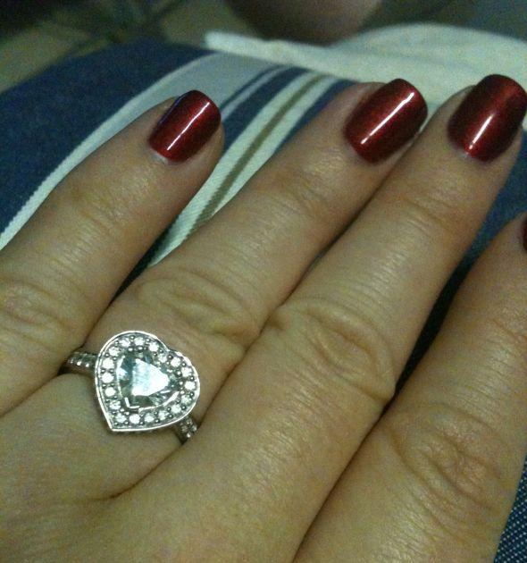 heart shaped diamonds anyone weddingbee
