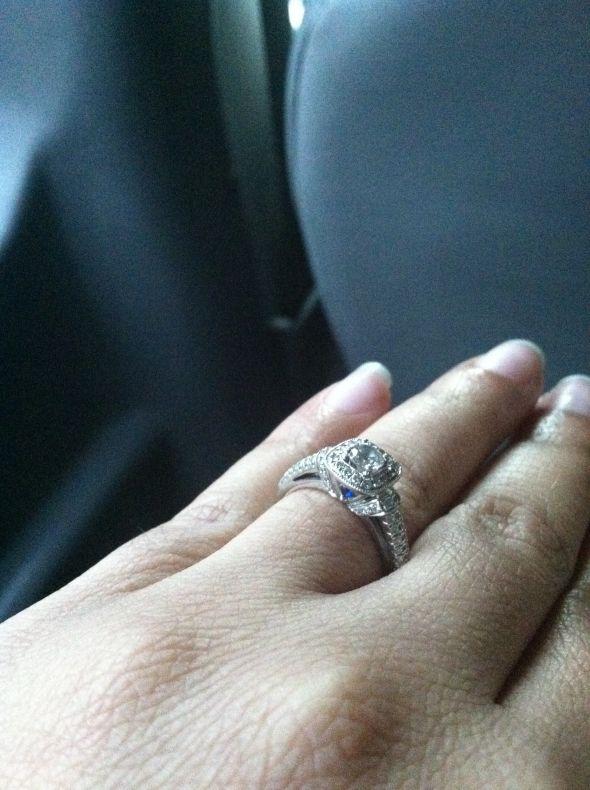 Any Vera Wang Engagement ring bees wedding Ring 2