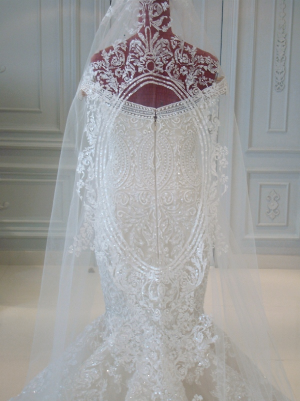 My veil! I love it!