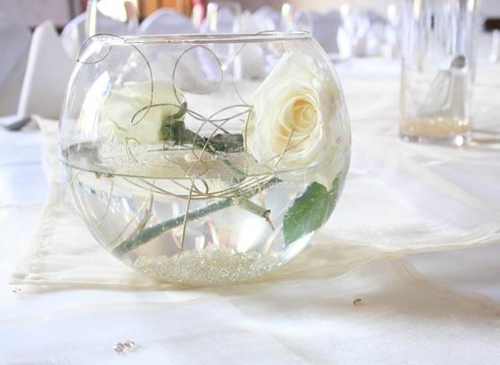 Fish bowl wedding centerpiece ideas car interior design for Fish bowl centerpieces ideas