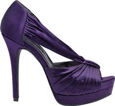 Jessica Simpson Eggplant Wedding Shoes