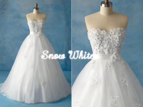 Snow White Inspired WEDDING DRESS!