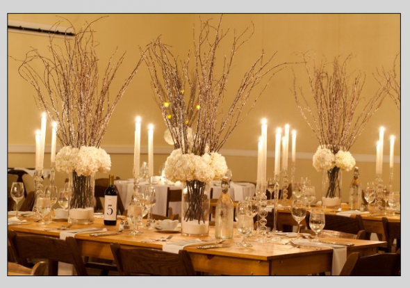 FOR SALE: Tall Crystallized Branch Centerpieces! — The Knot