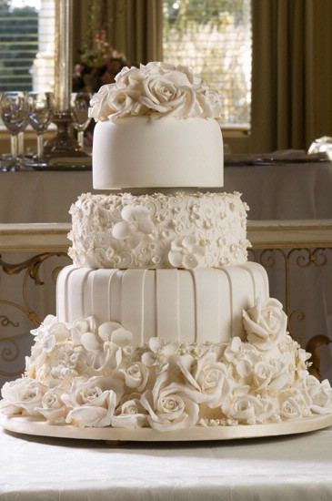 my dream cake :  wedding cake Elegant Wedding Cake