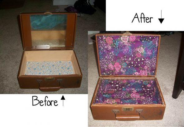 My Vintage Cardbox wedding card box purple inspiration diy Card Box