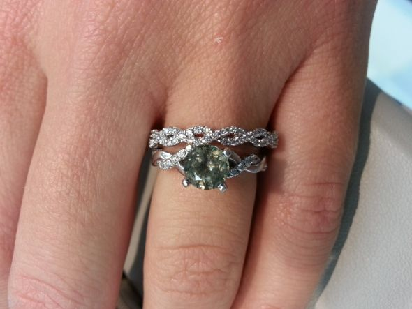 Help me decide on a wedding band for Three strand wedding ring