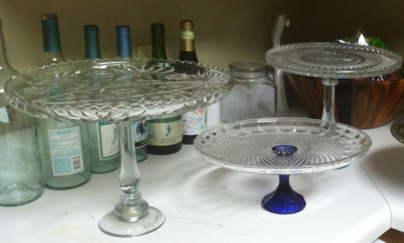 DIY Cake Stands For CHEAP : Wedding Cake Cake Rise Cheap Clear Diy .